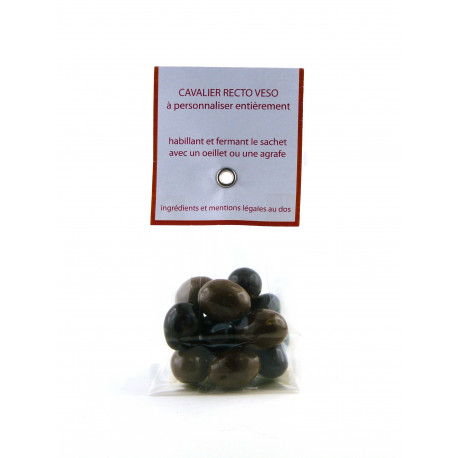 Sachet Cavalier Fruits Secs Chocolat