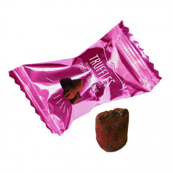 Truffes Chocolat Macaron Framboise