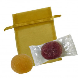 Sachet Organdi PM Pâtes de Fruits
