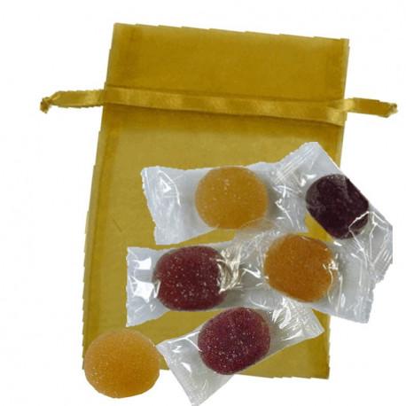 Sachet Organdi GM Pâtes de Fruits