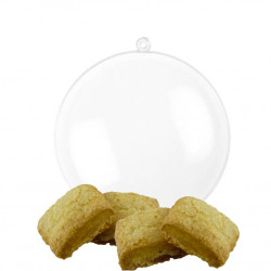 Boule de Noël Biscuits Canistrelli Bio