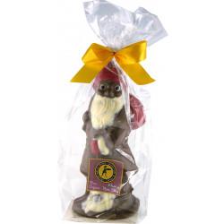 Père Noël Chocolat Lait Décoré