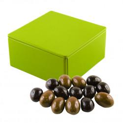 Boîte Métal Carrée Oeufs Nougatine Feuillantine