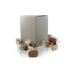 Coffret de Caramels fondants vanille chocolat