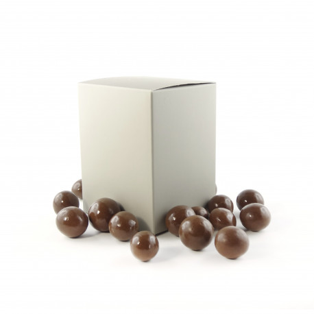 Coffret de Noisettes enrobées Chocolat au lait