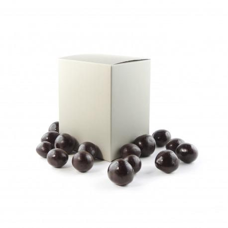 Coffret de Noisettes enrobées Chocolat noir