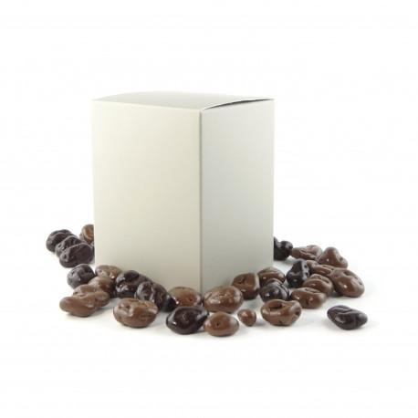 Coffret de raisins enrobés Chocolat