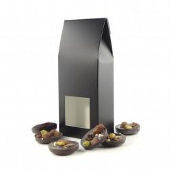 Petit Etui Mendiants Chocolat Noir