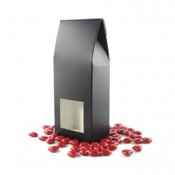 Petit Etui mini Coeurs Chocolat Noir