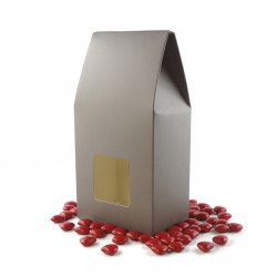 Grand Etui mini Coeurs Chocolat Noir