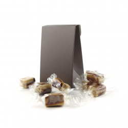 Pochette Caramels Fondants Vanille Chocolat