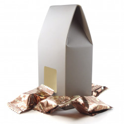 Grand Etui Truffes Chocolat Eclats Noisettes