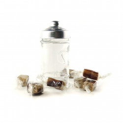Bonbonnière Caramels Fondants Vanille Chocolat