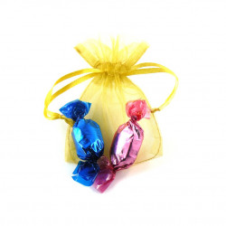 Sachet Organdi PM Bonbons Fruits Rouges