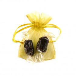 Sachet Organdi PM Caramels Chocolat