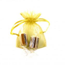 Sachet Organdi PM Caramels Fondants Vanille Chocolat
