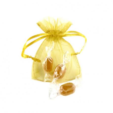 Sachet Organdi PM mini Bonbons Miel