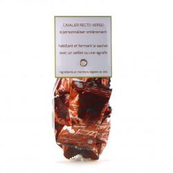 Sachet Cavalier Truffes Chocolat Eclats Caramel