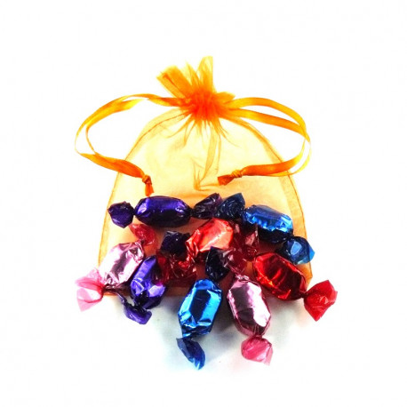 Sachet Organdi GM Bonbons Fruits Rouges