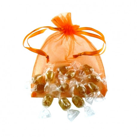 Sachet Organdi GM mini Bonbons Miel