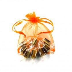 Sachet Organdi GM Caramels Fondants Vanille Chocolat