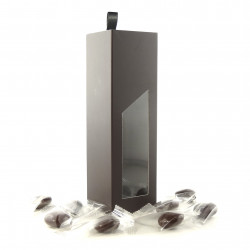 Coffret Tiroir Palets Nougatine Chocolat Lait