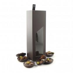 Coffret Tiroir Mendiants Chocolat Noir