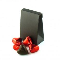 Pochette Coeurs Chocolat Lait Praliné