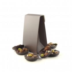 Pochette Mendiants Chocolat Noir
