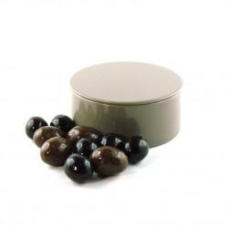 Boîte métal ronde Oeufs Nougatine Feuillantine