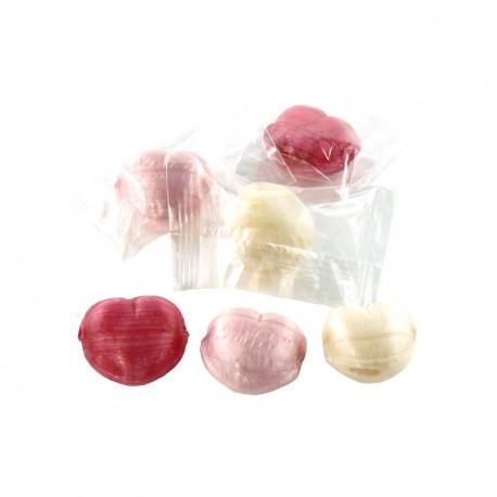 Coeurs Bonbons Fourrés Fruits