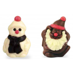 Petits Sujets de Noël Chocolat • lot de 20p