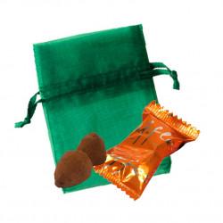Sachet Organdi PM Truffes Chocolat Caramel