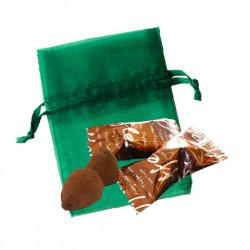Sachet Organdi PM Truffes Chocolat Noisette