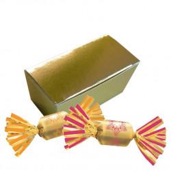 Mini Ballotin Bouchées Chocolat Fourrées