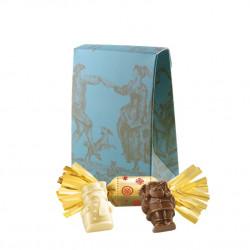 Pochette Sujets Chocolat Praliné