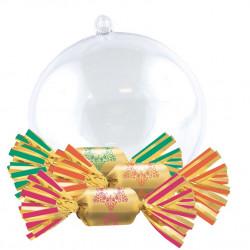 Boule de Noël Bouchées Chocolat Fourrées