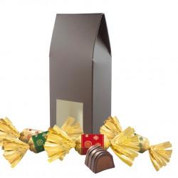 Petit Etui Bouchées Chocolat Praliné