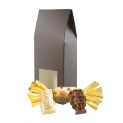 Petit Etui Sujets Chocolat Praliné