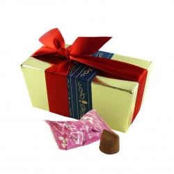 Gros Ballotin Truffes Chocolat Macaron Framboise