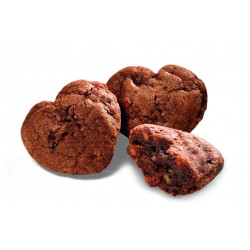 Biscuits Coeurs Chocolat Noisettes Bio