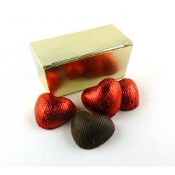 Mini Ballotin Coeurs Chocolat Praliné