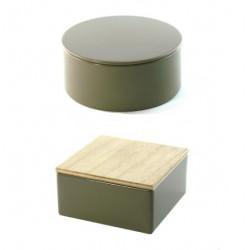 Boîtes en métal