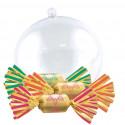 Noël en Boules Transparentes